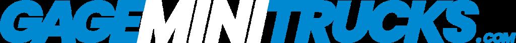 GageMiniTrucks dot Com Header Logo 1024 x 86